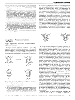 IsopagodanesЧPrecursors of Unusual Cage Ions.