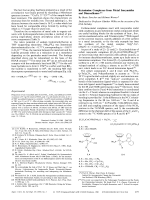 Ketenimine Complexes from Metal Isocyanides and Diazoalkanes.