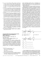 Lactosylceramides with Unsaturated Fatty AcidsЧSynthesis and Use in the Generation of Bilayer Membranes.