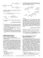 Light-Induced Decarboxylation of Carbamoyloxyamino Compounds.