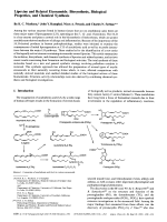 Lipoxins and Related Eicosanoids  Biosynthesis  Biological Properties  and Chemical Synthesis.