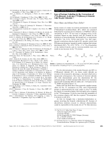Loss of Isotope Labeling in the Conversion of [18O2]Benzoic Acid into [18O]Benzoyl Chloride with Oxalyl Chloride.