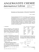 Mechanisms and Stereochemistry of Heterolytic Fragmentation.