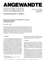 Metal-Carbon and Metal-Metal Multiple Bonds as Ligands in Transition-Metal Chemistry  The Isolobal Connection.