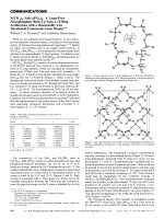 N(CH3)4 ╖ ZnH3(PO4)2  A Large-Pore Zincophosphate Built Up from a 12-Ring Architecture with a Remarkably Low Tetrahedral-Framework-Atom Density.