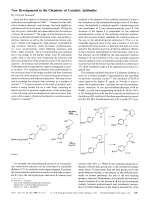 New Developments in the Chemistry of Catalytic Antibodies.