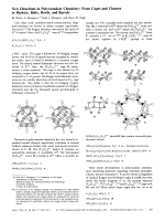 New Directions in Polyvanadate Chemistry  From Cages and Clusters to Baskets  Belts  Bowls  and Barrels.