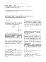 New Methods in the Chemistry Pyridazones.