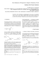 New Methods of Preparative Organic Chemistry IV.