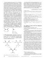 New Synthesis of Amino Acids from Halogenated Carboxylic Esters.