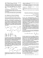 New Thiophens and Thieno [2 3-b]thiophens.