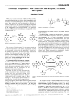 Non-Biaryl Atropisomers  New Classes of Chiral Reagents  Auxiliaries  and Ligands.