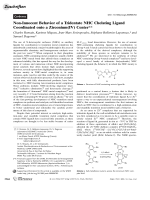 Non-Innocent Behavior of a Tridentate NHC Chelating Ligand Coordinated onto a Zirconium(IV) Center.