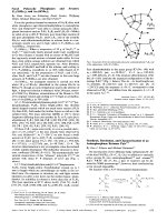 Novel Polycyclic Phosphanes and Arsanes  P11(SiMe3)3 and As7(SiMe3)3.