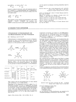 N-Persubstituted 3 5-Diaminophenols and 1 3 5-Benzenetriamines and their Protonation.