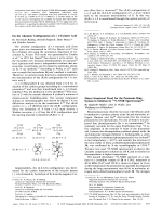 On the Absolute Configuration of (+)-Tartaric Acid.