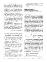 On the Thermal Behavior of Butatrienecarboxylic Acid Derivatives  Crystal and Molecular Structure of a [4]Radialene Tetracarboxylic Ester.