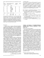 Oxidation and Reduction of Methylthio-Substituted -Systems and the Electron Distribution in Their Radical Ions.