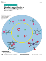 Phospha-Organic Chemistry  Panorama and Perspectives.