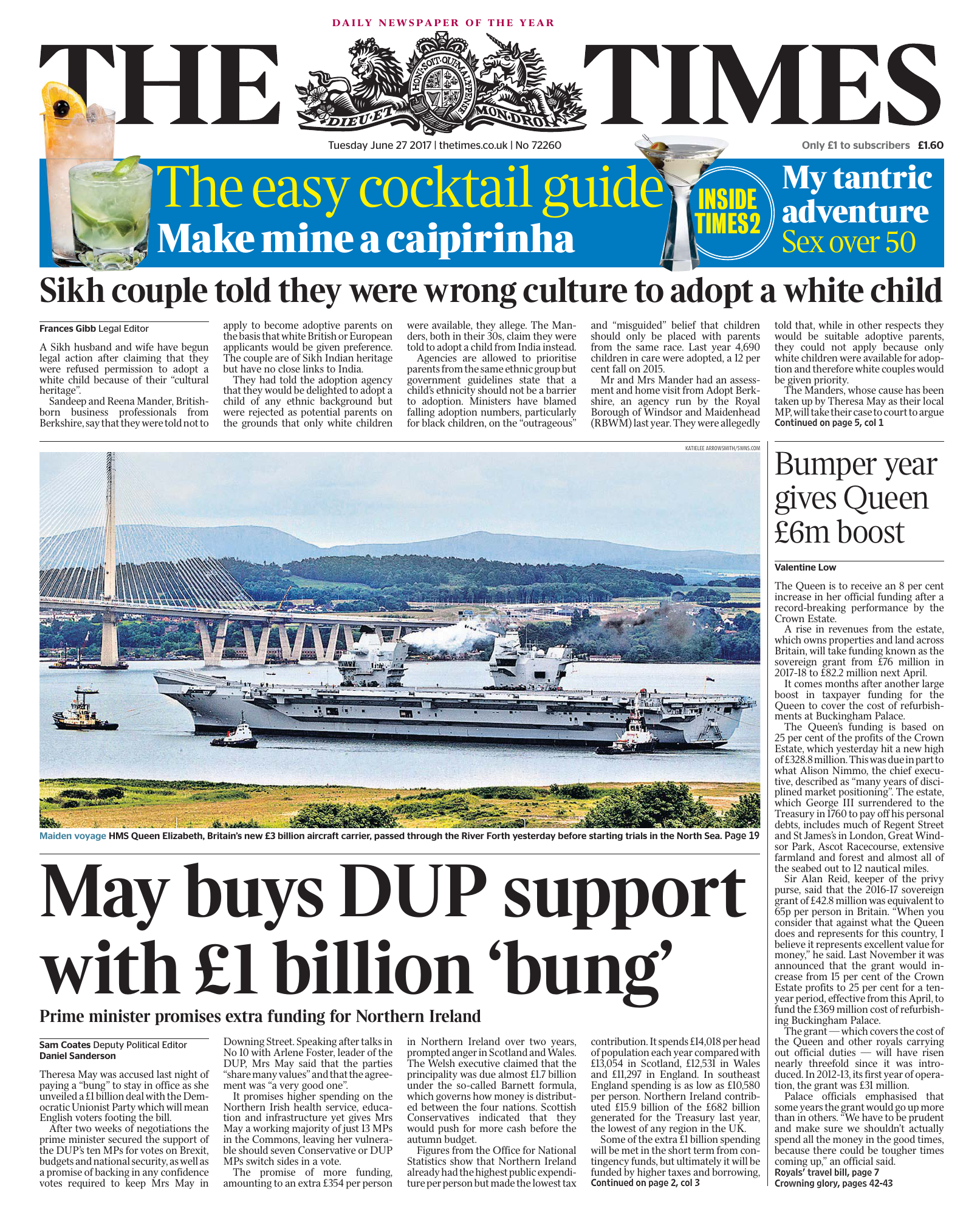The Times 27 June 2017