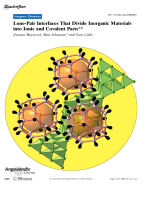 Lone-Pair Interfaces That Divide Inorganic Materials into Ionic and Covalent Parts.