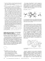 Synthesis and Crystal Structure of the Homoleptic Thioether Ruthenium Complex [Ru(1 4 7-trithiacyclononane)2](BPh4)2╖2Me2 SO.