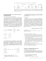 Synthesis and Isolation of cis- and trans-1 3 23  43-Diazadiphosphetidine.