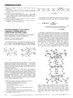 Trimethylene-Bridged Tri- and Tetratin Compounds as Building Blocks for Unusual Double and Triple Ladders.