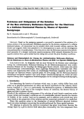 Existence and Uniqueness of the Solution of the Non-stationary Boltzmann-Equation for the Electrons in a Collision Dominated Plasma by Means of Operator Semigroups.