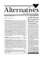 NASD should reconsider its punitives cap.