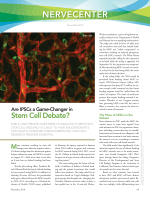 NerveCenter  Are IPSCs a game-changer in Stem Cell debate.