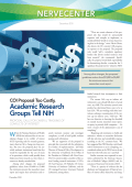 NerveCenter  COI proposal too costly  academic research groups tell NIH.
