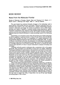 News from the molecular frontier. Review of Paternity in Primates  Genetic Tests and Theories R. D. Martin  A. F. Dixson  E. J. Wickings eds. Karger  1992  xi + 287 pp  $198