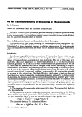 On the Reconstructability of Ensembles by Measurements.