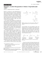 Metal-Free  Aerobic Dioxygenation of Alkenes Using Hydroxamic Acids.