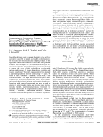Organocatalytic Asymmetric Domino KnoevenagelDielsЦAlder Reactions  A Bioorganic Approach to the Diastereospecific and Enantioselective Construction of Highly Substituted Spiro[5 5]undecane-1 5 9-triones.