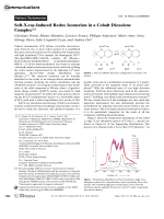 Soft-X-ray-Induced Redox Isomerism in a Cobalt Dioxolene Complex.