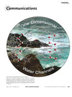 Structures and Solid-State Dynamics of One-Dimensional Water Chains Stabilized by Imidazole Channels.