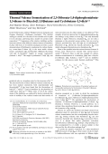 Thermal Valence Isomerization of 2 3-Diborata-1 4-diphosphoniabuta-1 3-dienes to Bicyclo[1.1.0]butanes and Cyclobutane-1 3-diyls