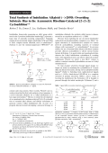 Total Synthesis of Indolizidine Alkaloid ()-209D  Overriding Substrate Bias in the Asymmetric Rhodium-Catalyzed [2+2+2] Cycloaddition.