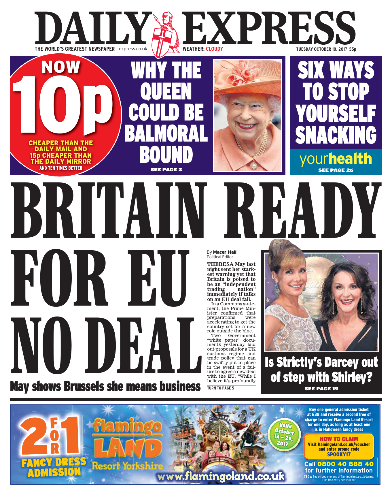 1f42291ea Daily Express – October 10