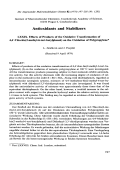 Antioxidants and stabilizers  LXXIX. Effects of products of the oxidative transformation of 4 4-thio-bis(2-methyl-6-tert-butylphenol) on the oxidation of polypropylene