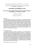 Antioxidants and stabilizers LXIX. Effect of products of the oxidation transformation of 4 4-thio-bis(2-methyl-6-tert-butylphenol) on the oxidation of tetralin