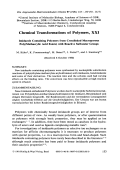 Chemical transformations of polymers  XXI. Imidazole containing polymers from crosslinked macroporous poly(methacrylic acid esters) with reactive sulfoester groups
