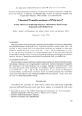 Chemical transformations of polymers. XVIII. Mercury-complexing polymers with pendent thiol groups. Preparation and medical uses