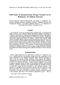 ESR study of intramolecular energy transfer in the radiolysis of cellulose furoates.