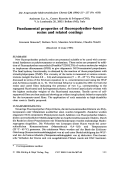 Fundamental properties of fluoropolyether-based resins and related coatings.