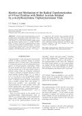 Kinetics and mechanism of the radical copolymerization of 4-vinyl pyridine with methyl acrylate initiated by p-acetylbenzylidene triphenylarsonium ylide.