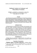 Imidazole catalysis in carbamate and polyurethane formation.
