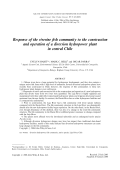 Response of the riverine fish community to the construction and operation of a diversion hydropower plant in central Chile.